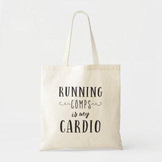 Bolsa Tote Comps de funcionamento é minha cardio- sacola