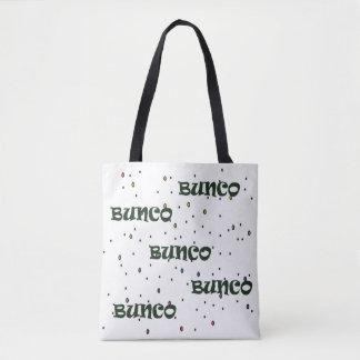 Bolsa Tote Confetes de Bunco