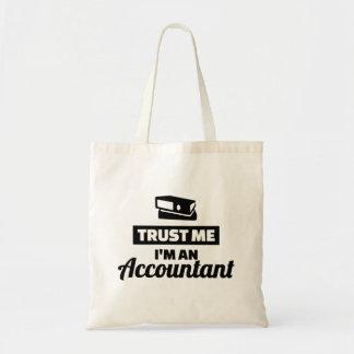Bolsa Tote Confie que eu mim é um contador