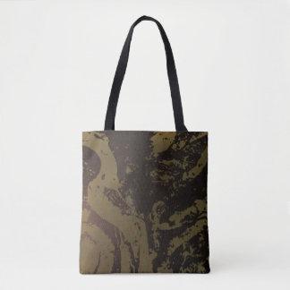 """Bolsa Tote """"Conhecimento"""" toda sobre - imprima a sacola"""