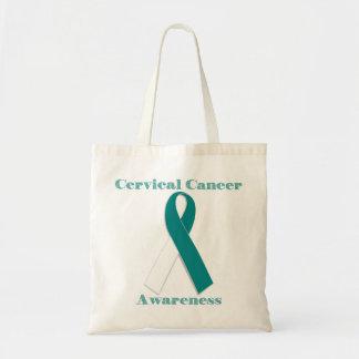Bolsa Tote Consciência do cancro do colo do útero
