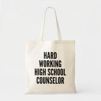 Bolsa Tote Conselheiro de trabalho duro do segundo grau