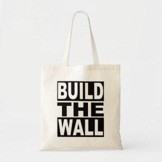 Bolsa Tote Construa a parede