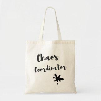 Bolsa Tote Coordenador do caos