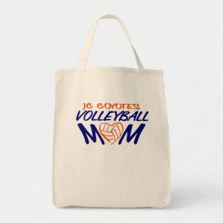 Bolsa Tote Coração da mamã do voleibol