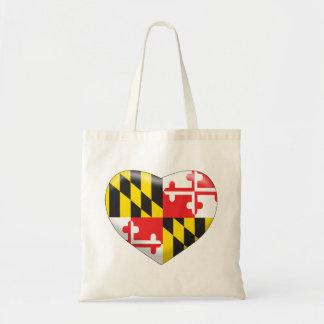 Bolsa Tote Coração de Maryland