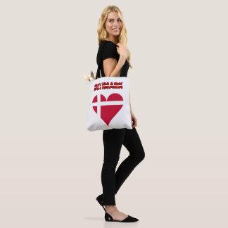 Bolsa Tote Coração dinamarquês