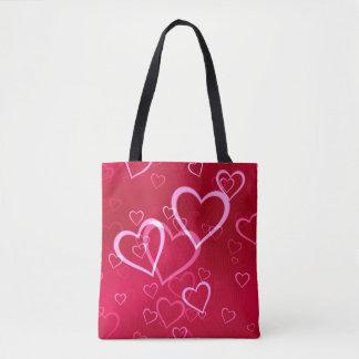 Bolsa Tote Coração do amor dos namorados