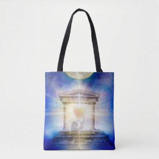 Bolsa Tote Coração do templo da lua V058