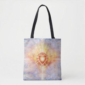 Bolsa Tote Coração H038 celestial