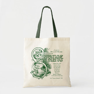 Bolsa Tote Cordeiro do Satyr da literatura de William Blake