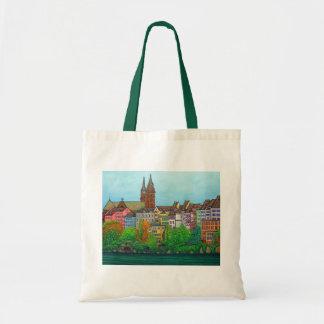 Bolsa Tote Cores da sacola de Basileia por Lisa Lorenz