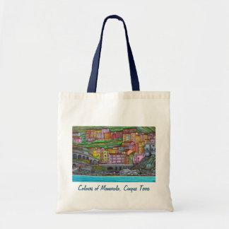 Bolsa Tote Cores de Manarola, sacola de Cinque Terre