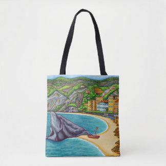 Bolsa Tote Cores do saco de Monterossa por Lisa Lorenz
