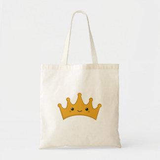 Bolsa Tote Coroa de Kawaii