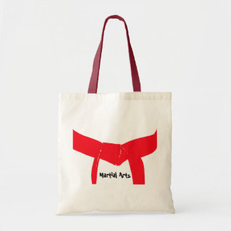 Bolsa Tote Correia do vermelho das artes marciais