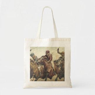 Bolsa Tote Corrida de cavalos SUPERIOR
