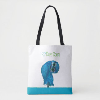 Bolsa Tote Coruja Burrowing coral do cabo