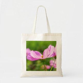 Bolsa Tote Cosmos cor-de-rosa