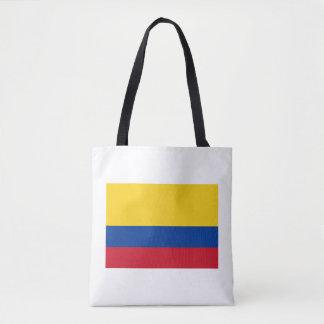 Bolsa Tote costume colombiano da bandeira toda sobre -
