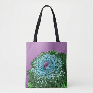 Bolsa Tote Couve de florescência