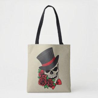 Bolsa Tote Crânio do cavalheiro