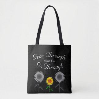 Bolsa Tote Cresça com o que você atravessa