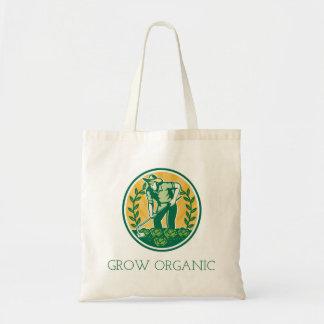 Bolsa Tote Cresça orgânico