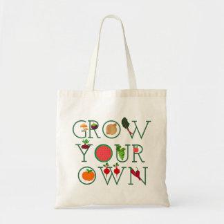 Bolsa Tote Cresça seus próprios