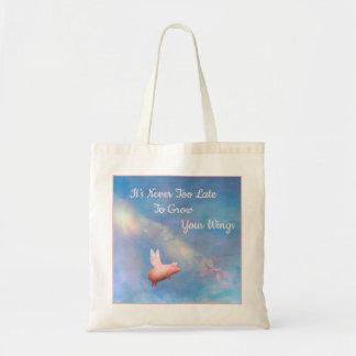 Bolsa Tote Cresça sua sacola das asas
