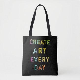 Bolsa Tote Criar a arte cada dia