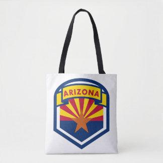 Bolsa Tote Crista da bandeira do estado da arizona