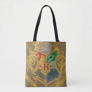Bolsa Tote Crista rústica de Harry Potter   Hogwarts
