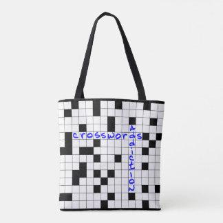 Bolsa Tote Crosswords addiction