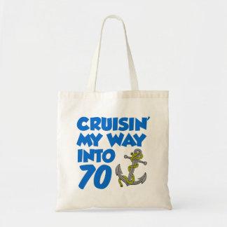 Bolsa Tote Cruisin minha maneira na sacola 70