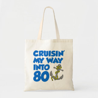Bolsa Tote Cruisin minha maneira na sacola da âncora de 80