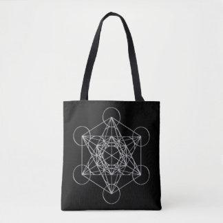 Bolsa Tote Cubo de Metatrons