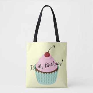 Bolsa Tote Cupcake, cupcakes do fosco do cupcake do