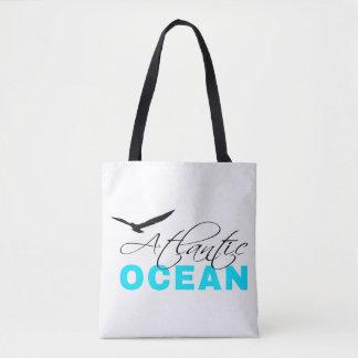 Bolsa Tote Customizável branco de Oceano Atlântico