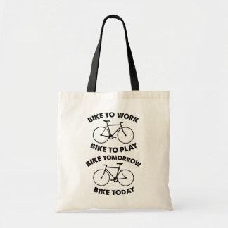 Bolsa Tote Da bicicleta ciclismo legal para sempre -