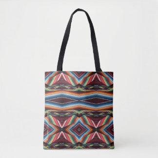Bolsa Tote Da sacola do vintage cobertura mexicana ocidental