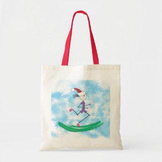 Bolsa Tote © da senhora Corredor do feriado do Natal