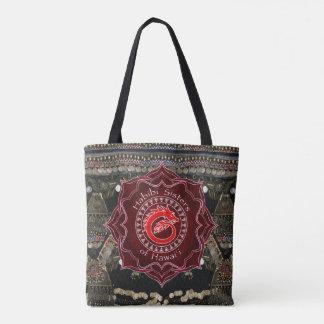 Bolsa Tote Dança do ventre de Kuchi do dragão