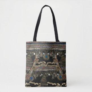 Bolsa Tote Dança do ventre tribal de Kuchi