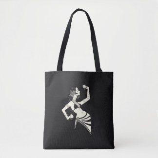 Bolsa Tote dançarino de barriga tribal da fusão com pratos