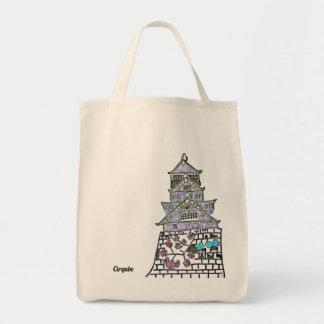 Bolsa Tote Daydream no castelo de Osaka