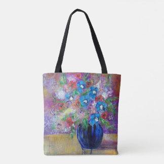 """Bolsa Tote De """"arte da sacola 24 buquês da hora"""" por Sheryl"""