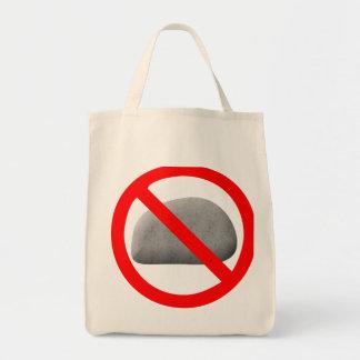 """Bolsa Tote De """"saco da doçura ou travessura nenhumas rochas"""""""