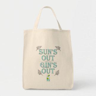 Bolsa Tote De Sun para fora da gim a sacola para fora