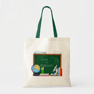Bolsa Tote De volta à ilustração da escola